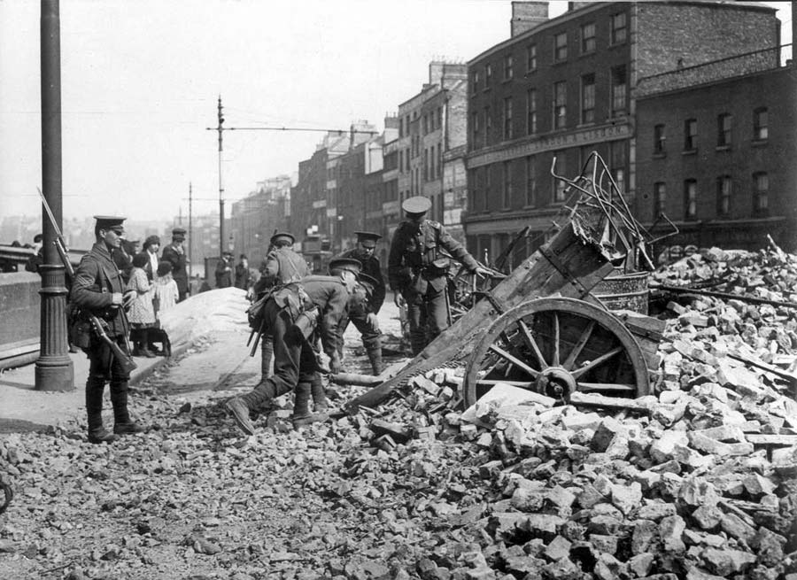 what happened in ireland 1916