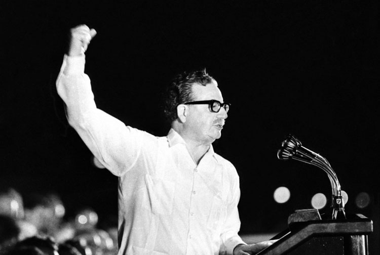 Salvador Allende Biography speech