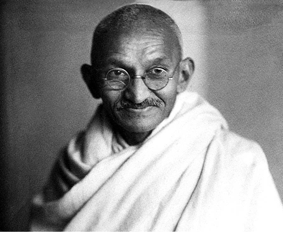 What did Mahatma Gandhi do for India
