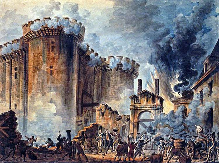 Storming of the Bastille, what happened 14 july