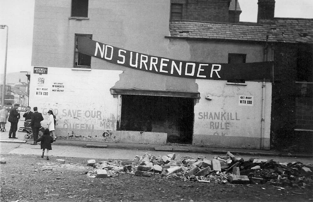 Shankill troubles Northern Ireland